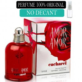 Perfume 100% Original Amor Amor Cacharel  no Decant + Brinde !