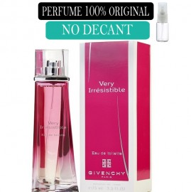Perfume 100% Original Very irresistible Givenchy no Decant + Brinde !