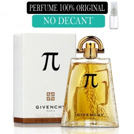 Perfume 100% Original PI Givenchi no Decant + Brinde !