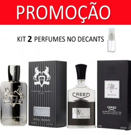 Kit 2 Decants : Perfume 100% Original Parfums de Marlys Pegasus + Creed Aventus   + Brinde !