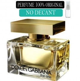 Perfume 100% Original D&G The One no Decant + Brinde !