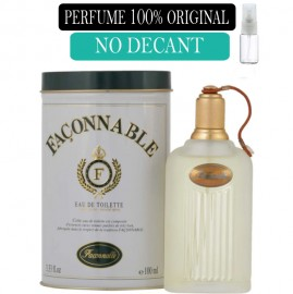 Perfume 100% Original FaçonNable no Decant + Brinde !