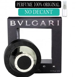 Perfume 100% Original Bvlgari Black no Decant + Brinde !