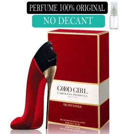 Perfume 100% Original Good Girl Velvet Fatale Carolina Herrera no Decant +  Brinde !