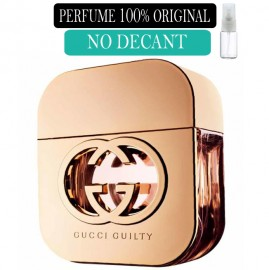 Perfume 100% Original  Gucci Guilty no Decant + Brinde !