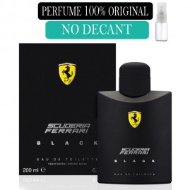 Perfume 100% Original  Ferrari Black  no Decant  + Brinde !