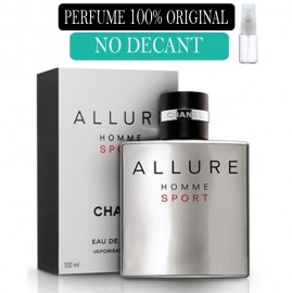 Perfume 100% Original Allure Sport  Chanel no Decant + Brinde !