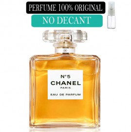 Perfume 100% Original Chanel Nº5  no Decant + Brinde !