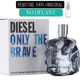 Perfume 100% Original  The Brave Diesel no Decant + Brinde !