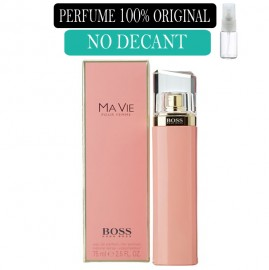 Perfume 100% Original Ma vie Hugo Boss no  Decant + Brinde !