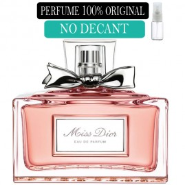 Perfume 100% Original Miss Dior edp no Decant + Brinde !