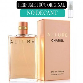 Perfume 100% Original Allure Chanel Feminino no Decant + Brinde !