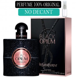 Perfume 100% Original Opium Black Yves Saint Lourent no Decant + Brinde !